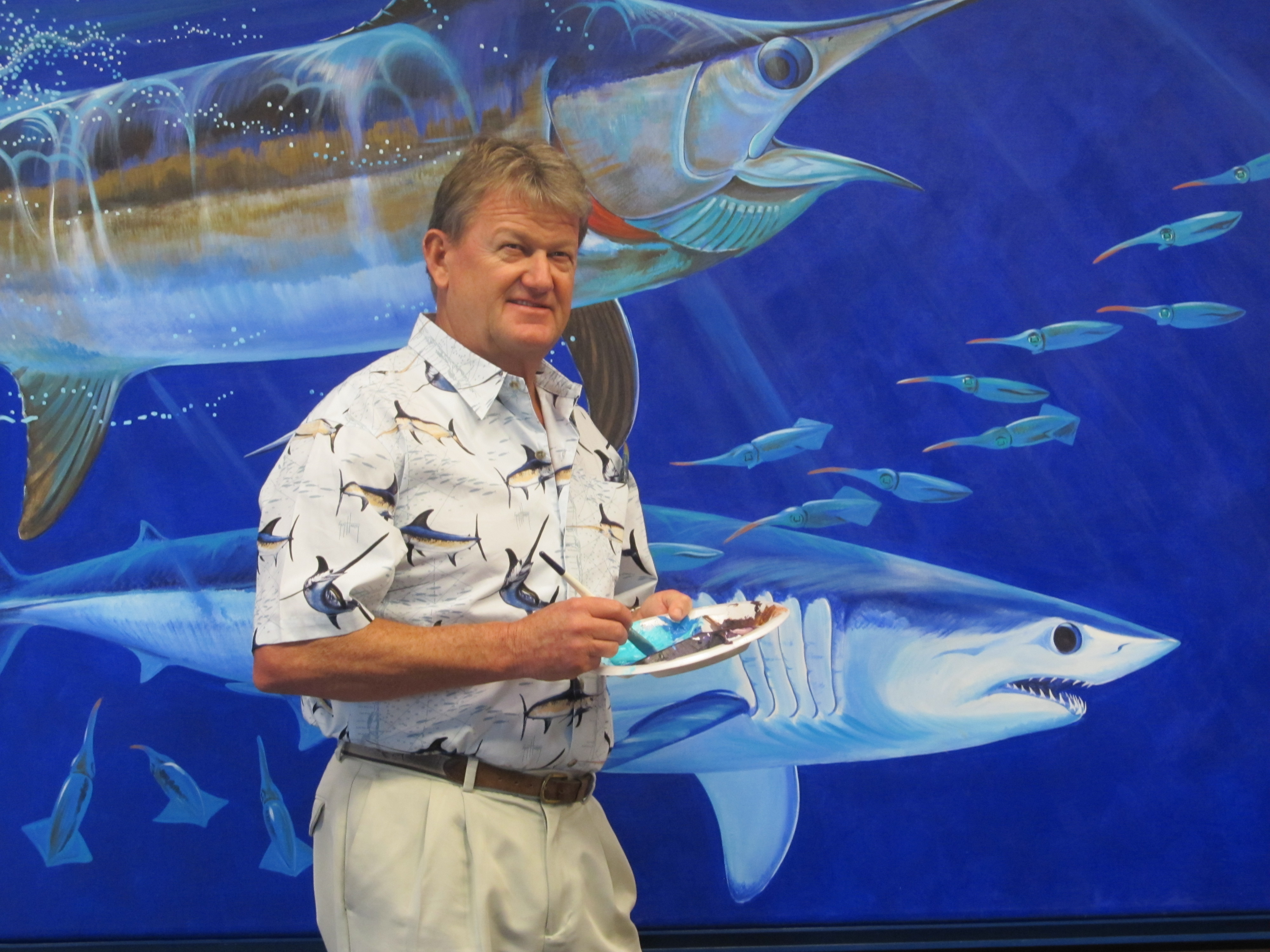 Seafarers' House to honor Guy Harvey at 2016 Golden Compass Gala
