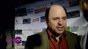 Jason Alexander on the red carpet
