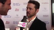 Jason Priestly on the red carpet at Palm Beach Film Festival