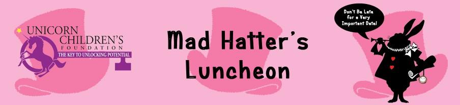 Unicorn Children's Mad Hatter's Luncheon